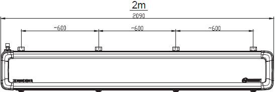 Размеры Defender 200